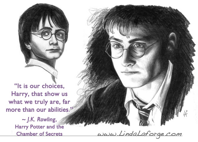 Harry Potter drawing.