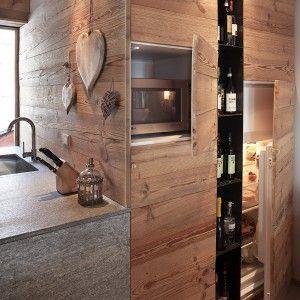 Atmosfera da chalet in una casa moderna cose di casa - Nascondigli in casa ...