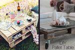 Τραπέζι από ξύλινες παλέτες: μια εύκολη και οικονομική πρόταση για το σπίτι που θα σας ενθουσιάσει!
