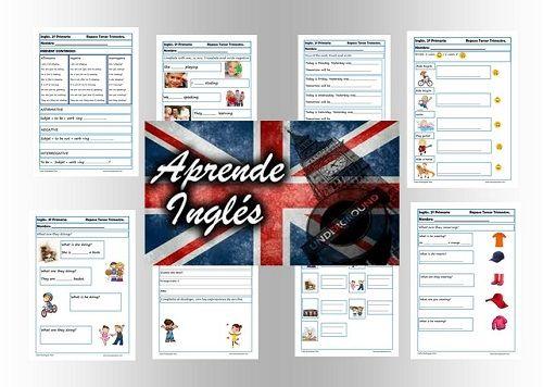 Ejercicios de inglés segundo primaria Fichas inglés segundo primaria para repasar en clase o en casa. Inglés: 20 Fichas con