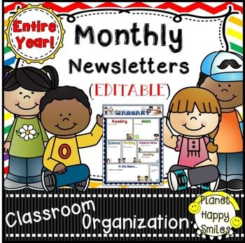 Top 25+ Best Monthly Newsletter Template Ideas On Pinterest