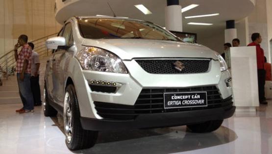 Maruti Suzuki Ertiga Crossover Concet at Indonesian Motors Show, Jakarta
