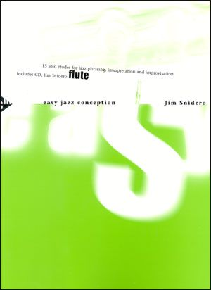 Jamey Aebersold Jazz: Easy Jazz Conception for Flute