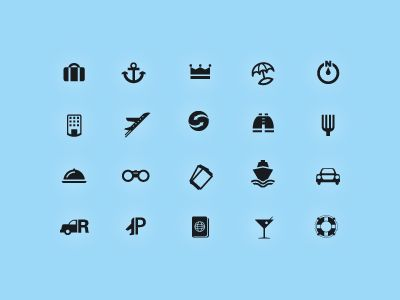WIP - Travel Icons