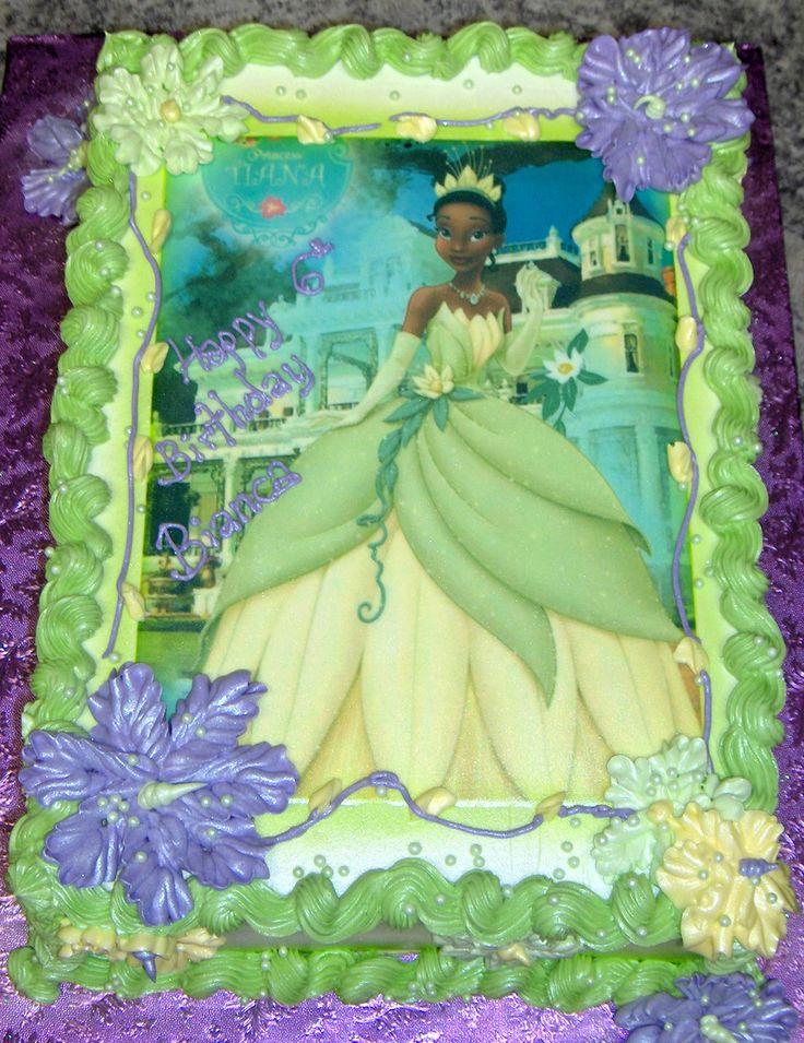 Princess and the Frog Edible Image