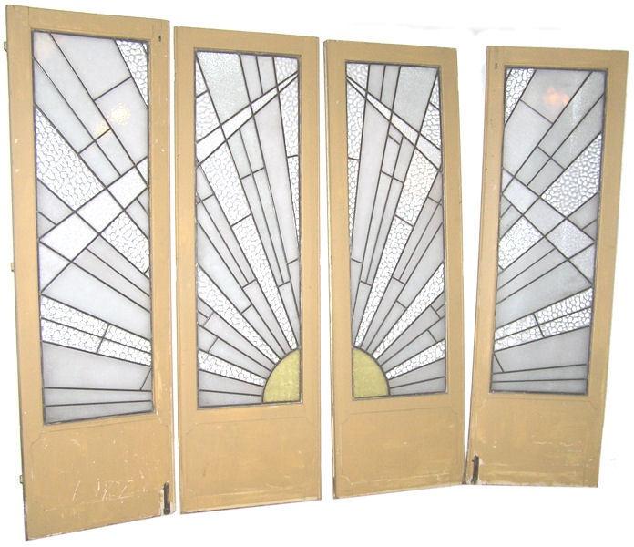 Sunburst doors