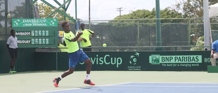 Barbados overcome Uruguay in Davis Cup - http://www.barbadostoday.bb/2015/11/01/barbados-overcome-uruguay-in-davis-cup/