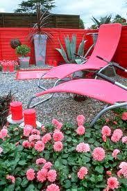 Image result for pink outdoor furniture