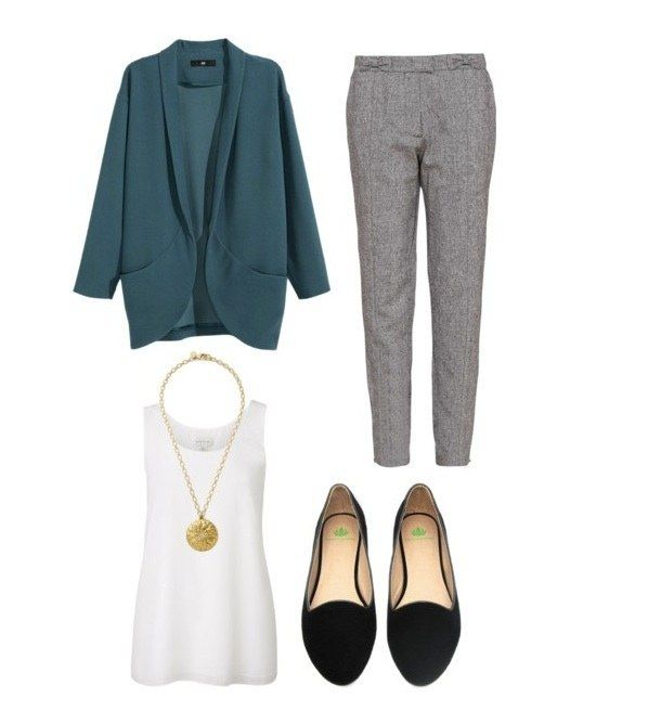A delightfully oversized blazer. | 17 Outfits To Help You Keep It Comfy At The Office