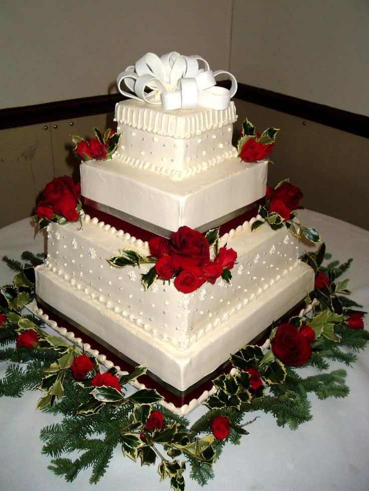 christmas wedding cakes images 17 best images about wedding cakes on 12837