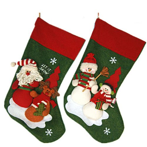 Aliexpress.com : Buy Free shipping 2013 Christmas stockings lovely and warm christmas tree decoration Chritmas gift SHB116 from Reliable christmas decorations stockings suppliers on Men's choice $11.55