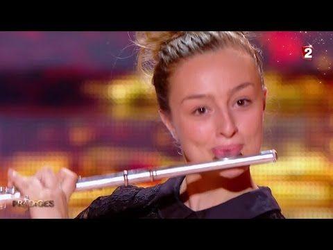 """Fanny joue """"Badinerie"""" & """"Le vol du bourdon"""" à la flûte traversière - Prodiges 2 - YouTube"""
