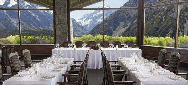 hermitage hotel mt cook wedding - Google Search