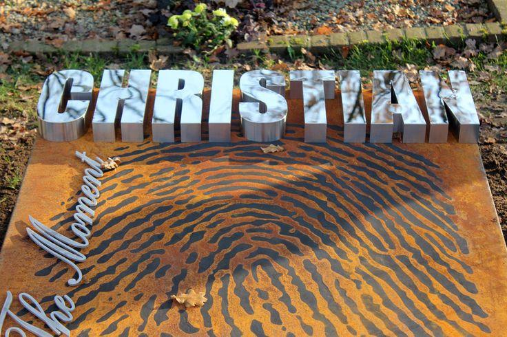 Enlarged fingerprint cut out in rusted steel.  (scheduled via http://www.tailwindapp.com?utm_source=pinterest&utm_medium=twpin&utm_content=post18859008&utm_campaign=scheduler_attribution)