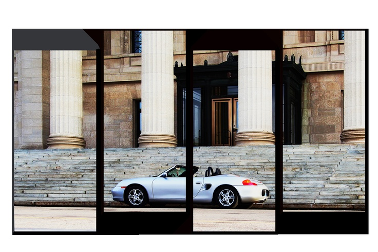 Porsche 4 Panel Virtual Canvas Print by *Joe-Lynn-Design on deviantART
