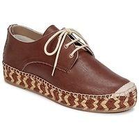 Shoes Női Oxford cipők Fred de la Bretoniere PATRICE Barna / Rózsaszín