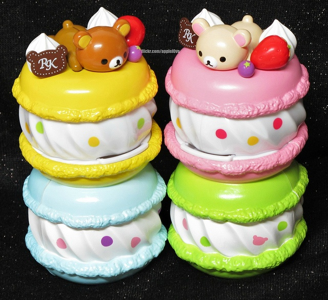 Macaron Dispensers #rilakkuma