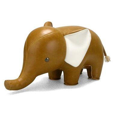 ELEPHANT Animal Bookend by Zuny
