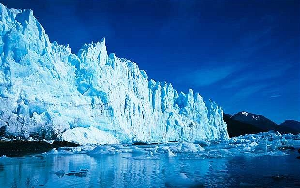The Perito Moreno, located in Argentina is the third largest freshwater reserve. It is located in the Los Glaciares National Park, and is approximately 250 km square and 30 km in length.