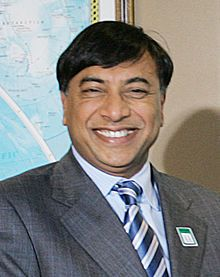 Lakshmi Mittal,  Chairman & CEO of ArcelorMittal, the world's largest steel making company.