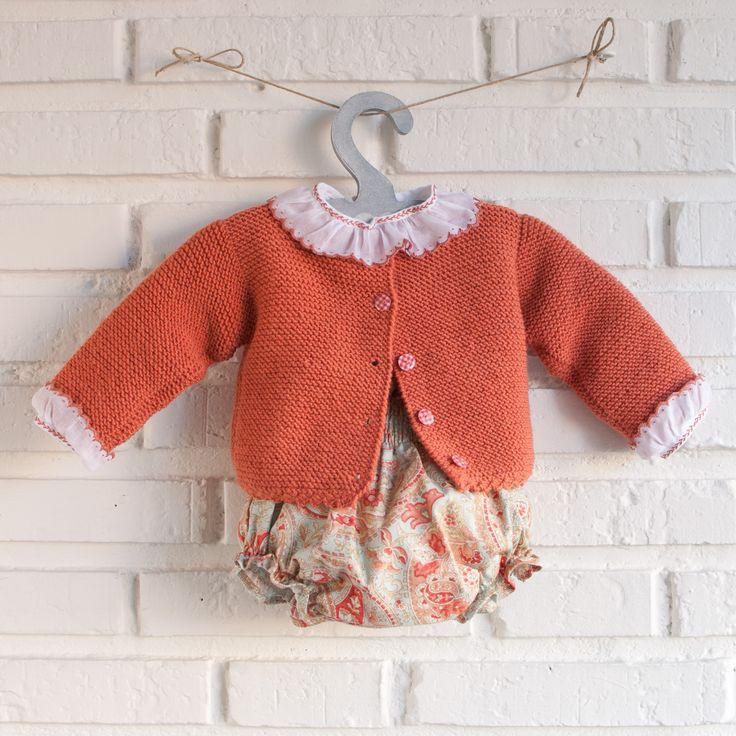 culotte algodon con chaqueta de lana merina pelotedelainebebes@gmail.com