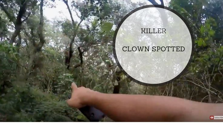 KILLER CLOWN SIGHTING IN THE PARK ?!? - GONE WRONG