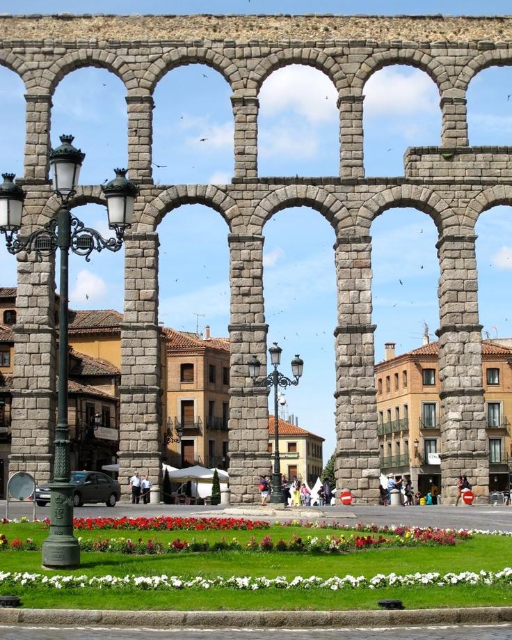 Roman Aqueduct Segovia, Spain ❤