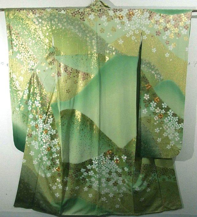 Furisode #321259 Kimono Flea Market Ichiroya