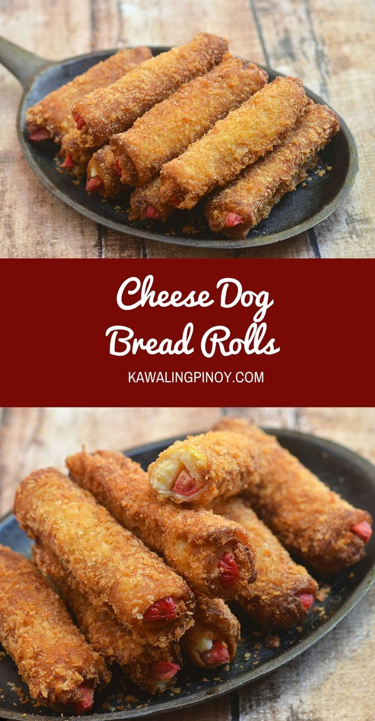 Golden and crunchy on the outside and filled with meaty hot dogs and creamy…