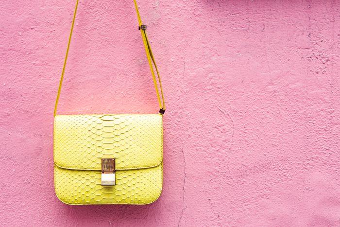 yellow celine