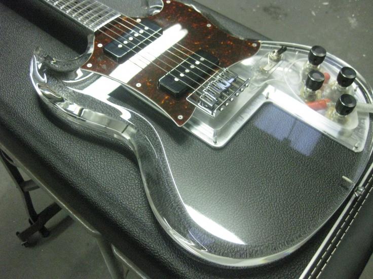 290 best images about guitar acrylic lucite plexiglass on pinterest legends acrylics. Black Bedroom Furniture Sets. Home Design Ideas