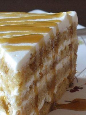 Karamelový Mascarpone dort podle Erika30