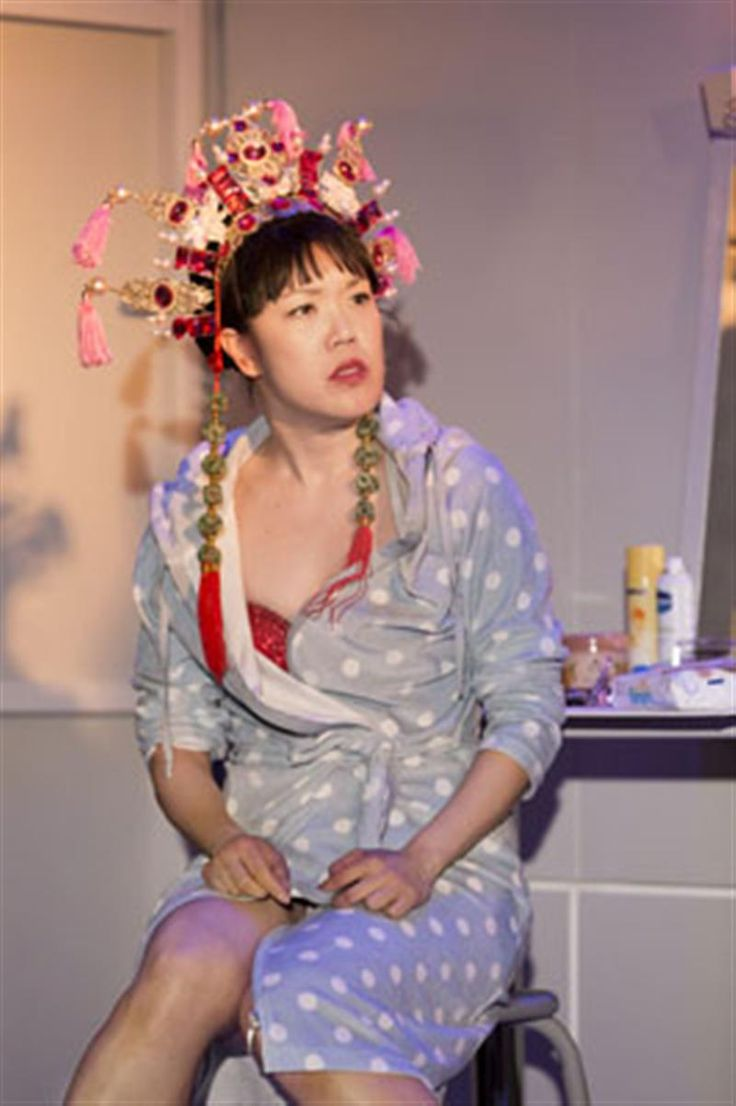 Vera Chok in Chimerica at the Harold Pinter Theatre
