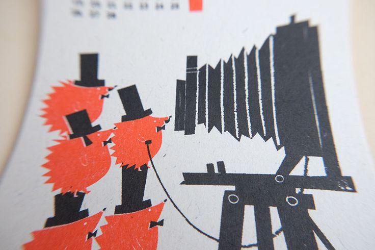 https://flic.kr/p/Nmt3Uf | 2017 Calendar by Kyoko Nemoto | Silkscreen print 100mm X 148mm 2017 カレンダー 今年も作りました! aozorastore.tumblr.com サイズ:100mmx 148mm (ポストカードサイズ)  印刷: 孔版印刷 (レトロ印刷) オモテ2色/ウラ1色 紙: 富士わら厚紙 価格: 1200円 (12ヶ月1セットです) お振込: 銀行振込の他、Paypal経由でクレジットカードでもお求めいただけます。カレンダー専用フォームよりご注文後、https://ws.formzu.net/fgen/S66212372 ご確認メールをお送り致します。 送料 郵便局のクリックポスト(全国一律1kgまで168円)でお送りします。 ※銀行お振り込み手数料はご負担頂いております。