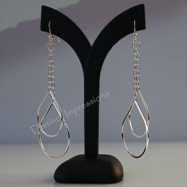 Sterling Silver Earrings Modern and unusual