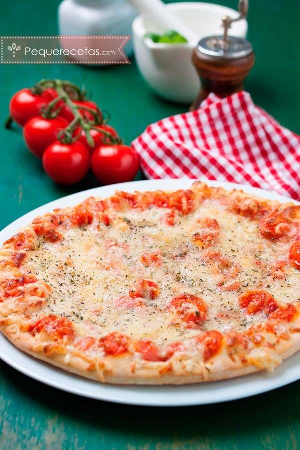 cómo hacer pizza casera fácil