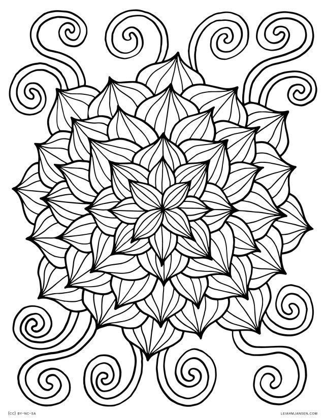 21 Awesome Image Of Flower Coloring Pages Entitlementtrap Com Abstract Coloring Pages Spring Coloring Pages Cool Coloring Pages