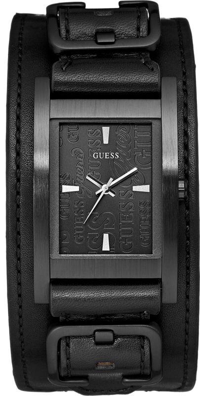 Buckle Up Black W85094G1, horloge voor heren