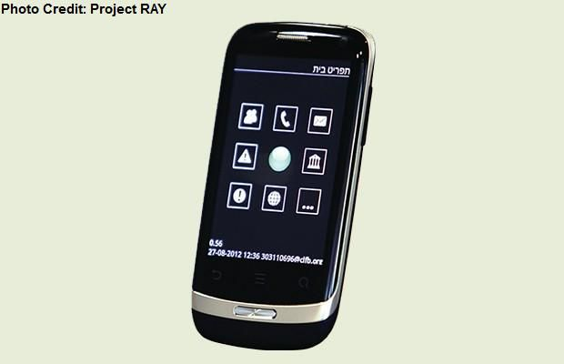 Meet RAY! He's the world's 1st smartphone especially designed for people who are blind or visually impaired.