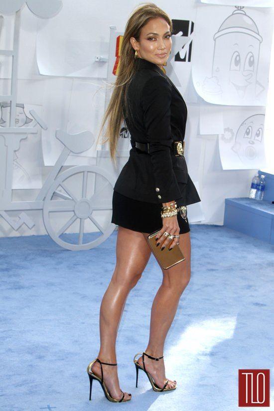 Jennifer Lopez 2015 Mtv Movie Awards Red Carpet Fashion