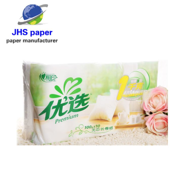 Hot Sale Raw Material Tissue Paper Toilet Paper Manufacturer