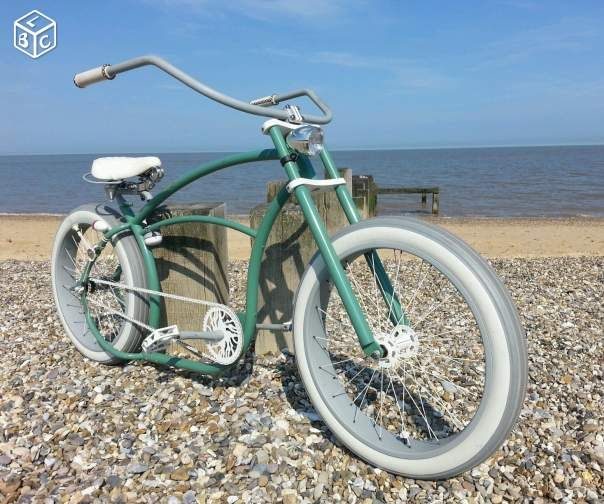 Basman customised beachcruiser chopper v los paris for Garage velo paris