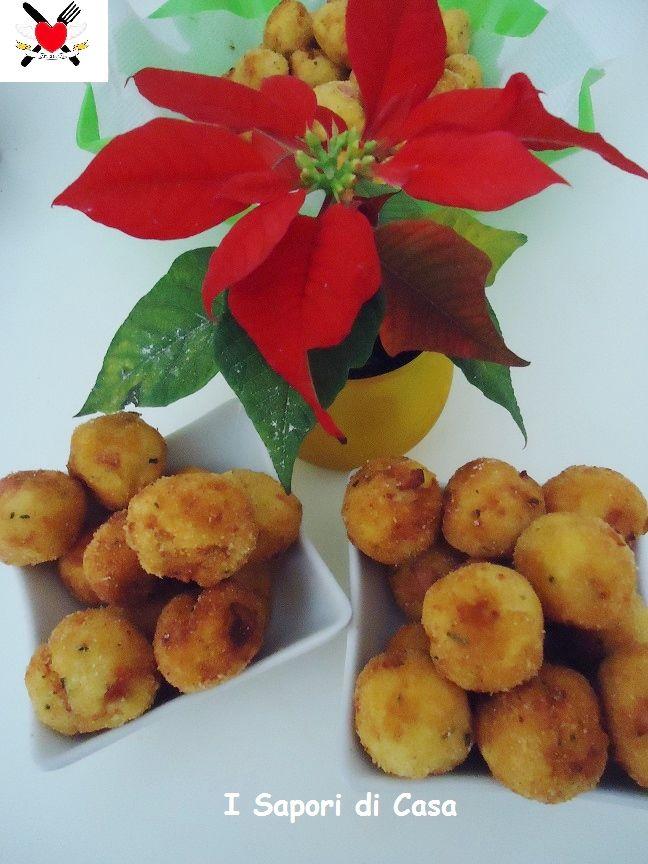 Chicche di patate e prosciutto cotto - finger food goloso