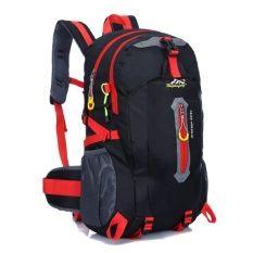Outdoor Backpack กระเป๋าเป้ สะพายหลัง เดินทาง ขนาด 40 ลิตร (Black)