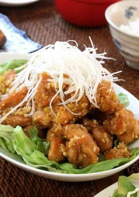 カリカリ&ジューシー油淋鶏 鶏の唐揚げ yahooトップ掲載