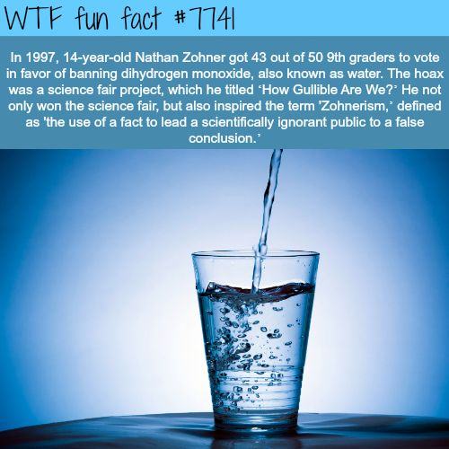 How facts can deceive ignorant people - WTF fun facts