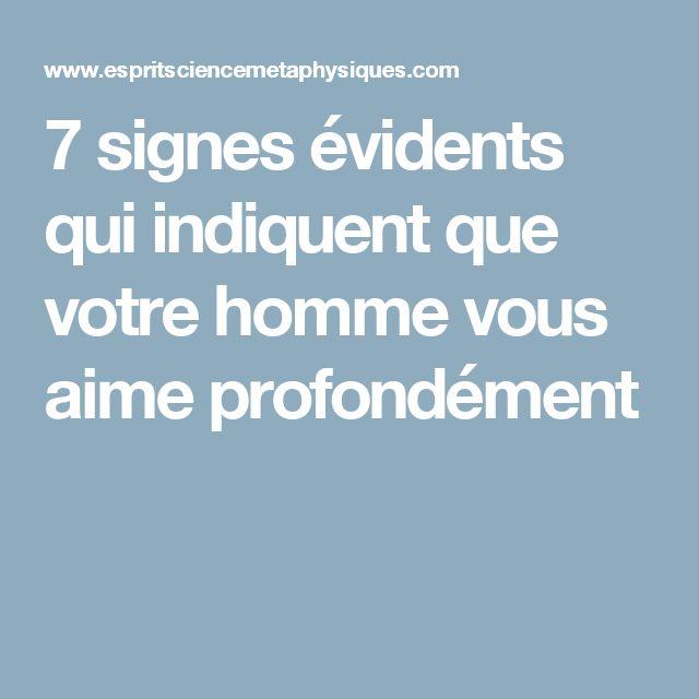 7 signes évidents qui indiquent que votre homme vous aime profondément