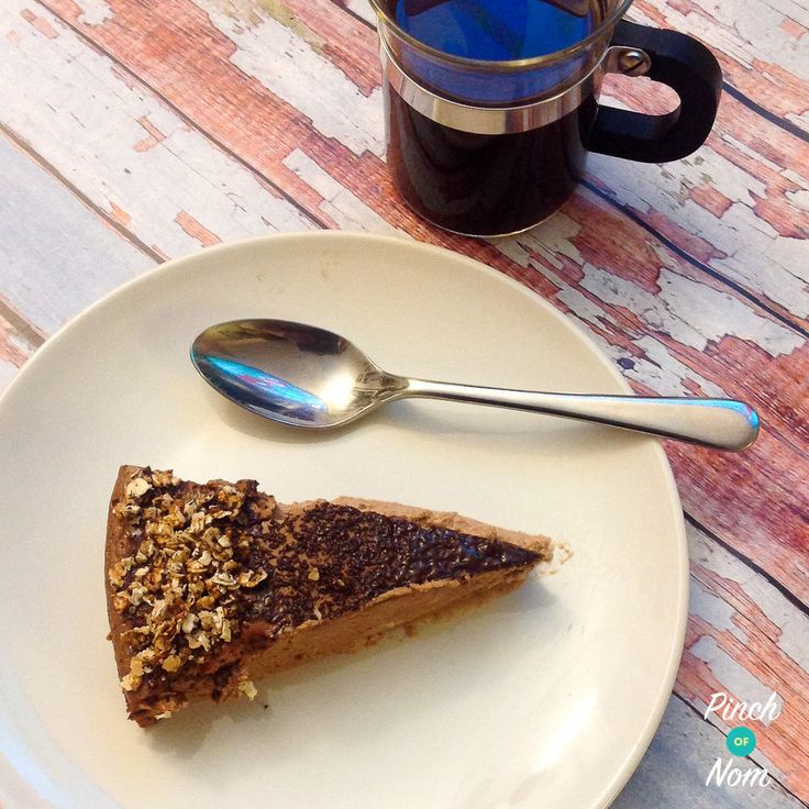 Low Syn Mississippi Mud Pie Cheesecake | Slimming World