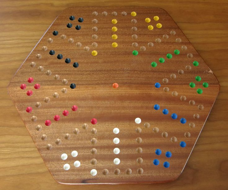 Sepele Wood Aggravation Board Game