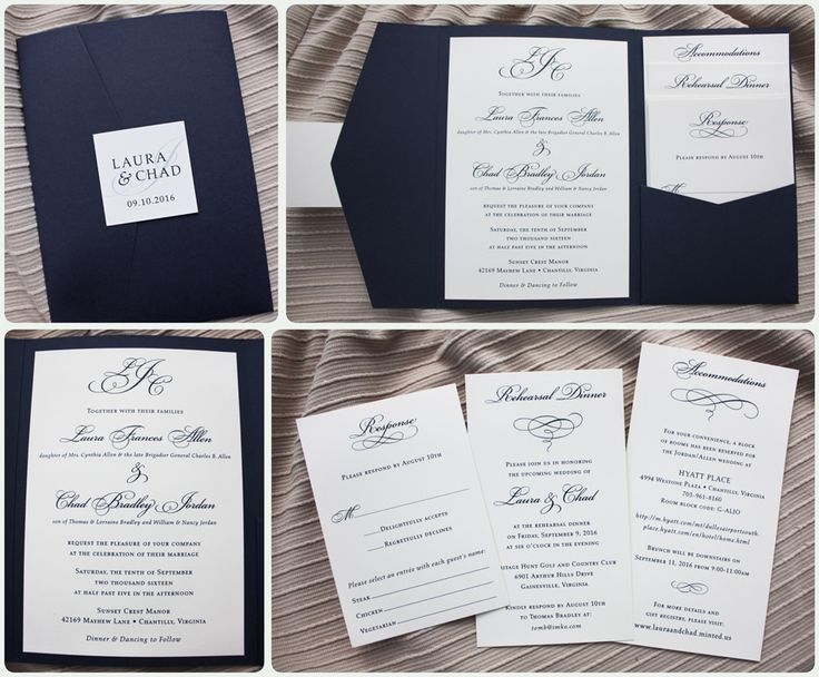 120 best Invitations images on Pinterest Weddings, Receptions and - best of invitation letter wedding
